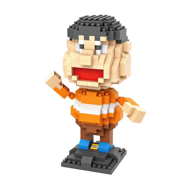 Loz 9808 Giant Doraemon Mainan Blok dan Puzzle