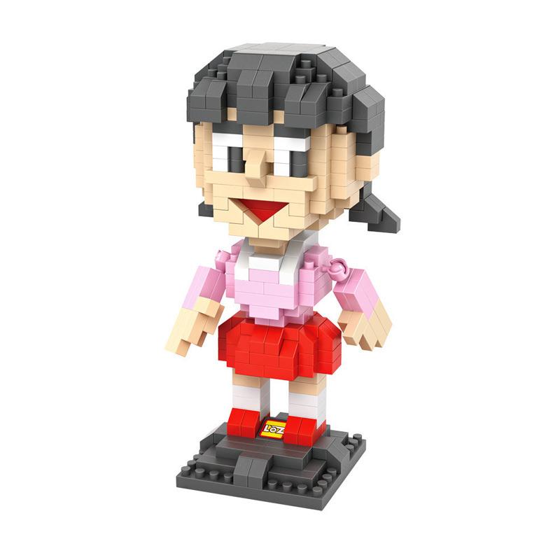 Loz 9809 Shizuka Doraemon Mainan Blok dan Puzzle
