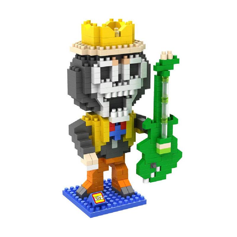 Loz 9824 Brook One Piece Mainan Blok & Puzzle