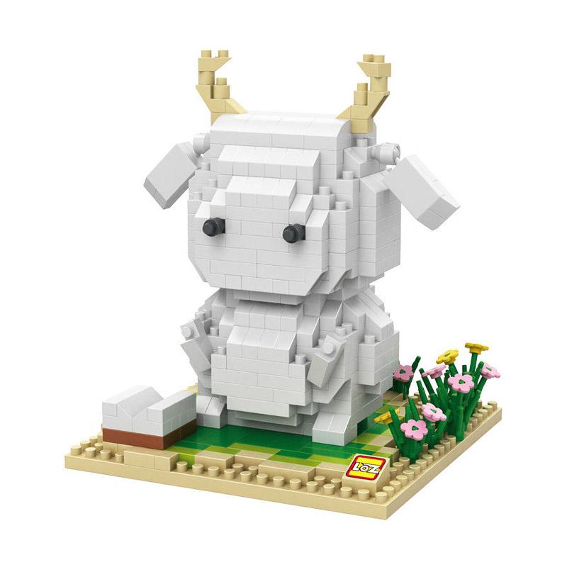 Loz 9847 Mero Mashimaro Mainan Blok and Puzzle
