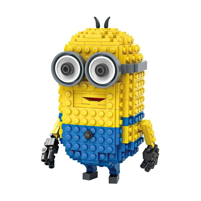 Loz Blocks 1205 Tim Minion Mainan Blok dan Puzzle