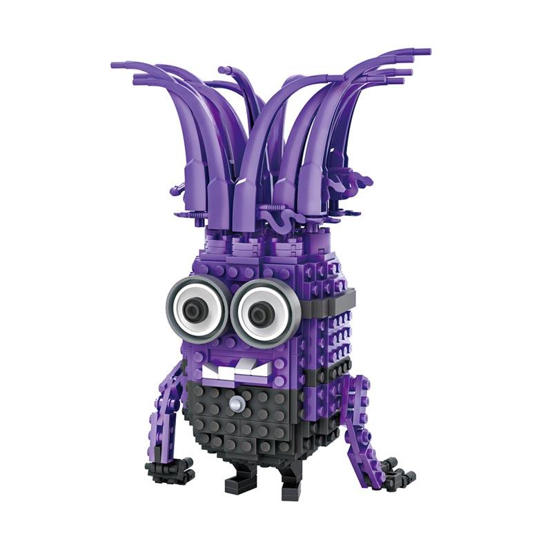 Loz Blocks 1206 Evil Minion Mainan Blok dan Puzzle