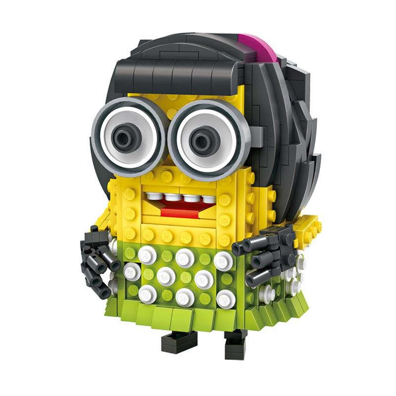 Loz Blocks 1208 Drees Up Minion Mainan Blok dan Puzzle