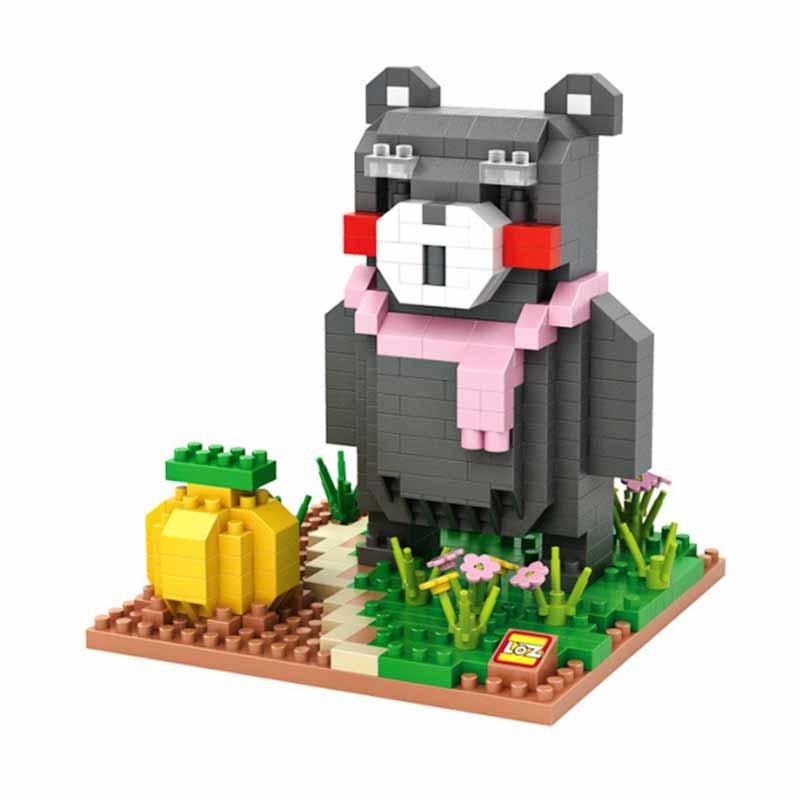 Loz Blocks 9843 Kumamon Gardening Mainan Blok & Puzzle