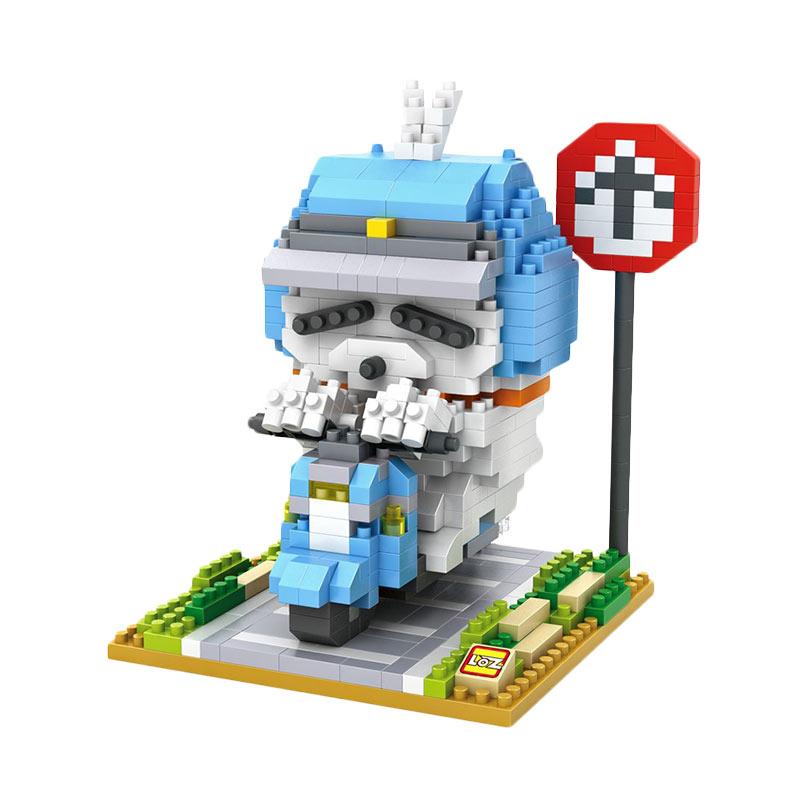 LOZ Blocks 9844 Rider Mashimaro Mainan Blok & Puzzle