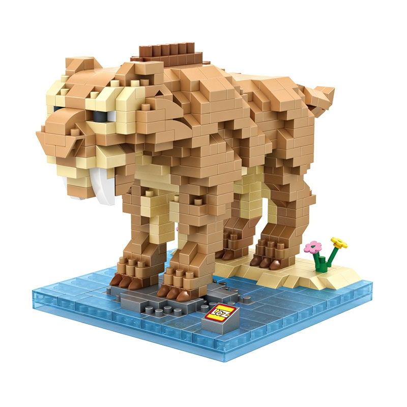 LOZ Diamond Block 9730 Diego Ice Age Mainan Blok & Puzzle