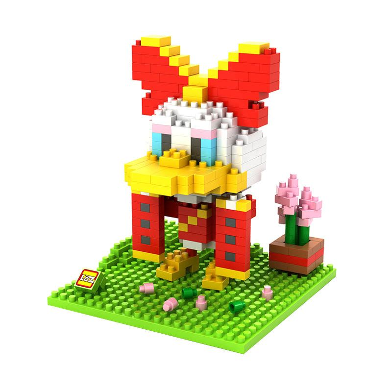 Loz Gift Large 9438 Daisy Chinese Costume Mainan Blok dan Puzzle