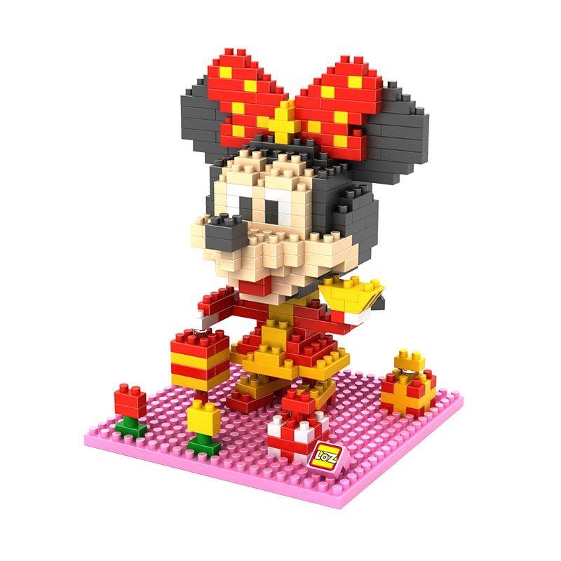 Loz Gift Large 9440 Minnie Chinese Costume Mainan Blok dan Puzzle