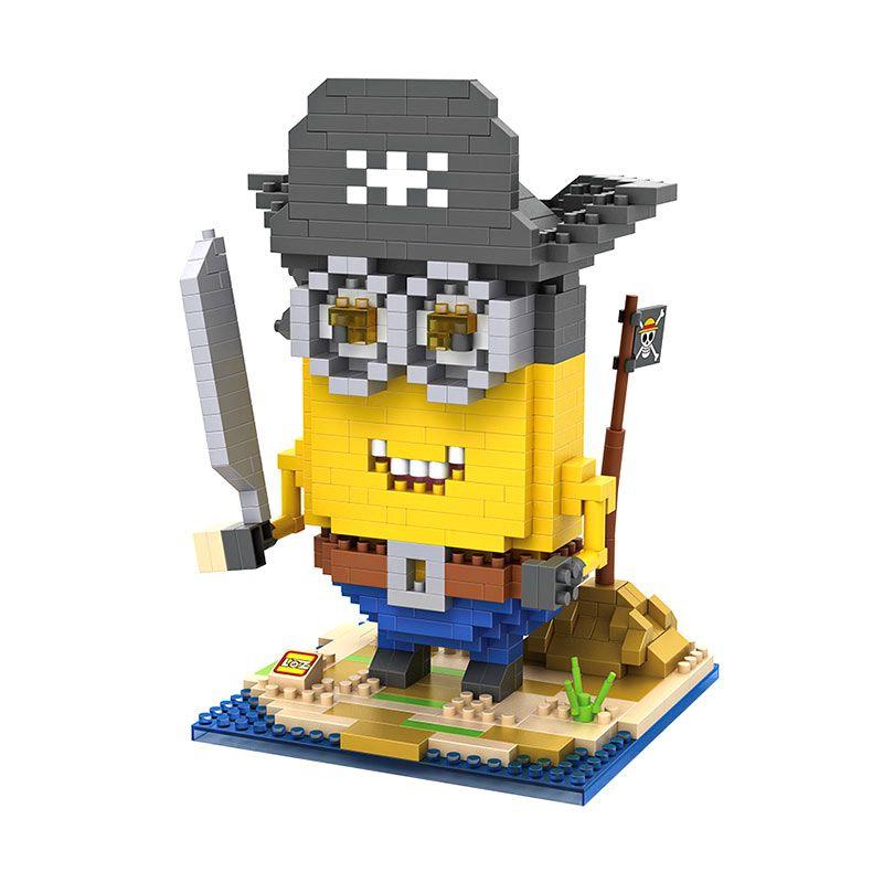 Loz Gift XL 9614 Pirate Minion Mainan Block dan Puzzle