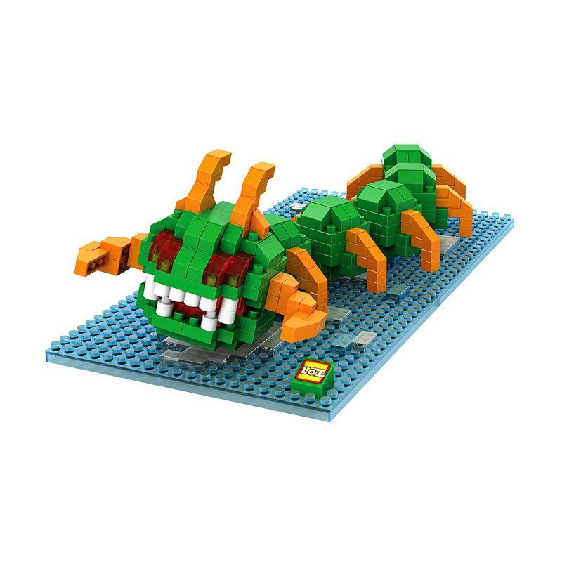 LOZ Gift XL 9620 Centipede Mainan Block