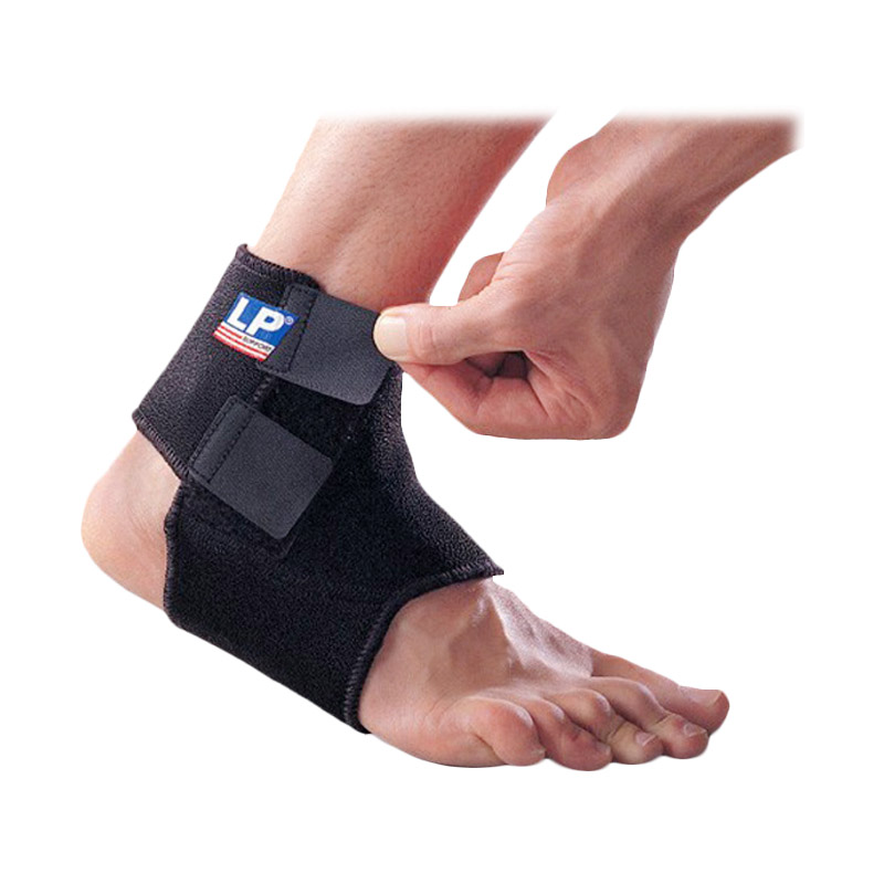 harga LP Support LP-768 Adjustable Ankle Alat Pelindung - Black Blibli.com