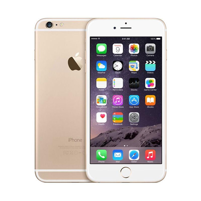 Apple iPhone 6 16 GB Gold Smartphone(Refurbished Garansi Distributor)