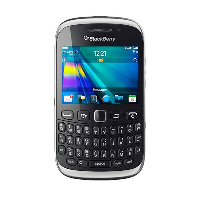 Blackberry Amstrong 9320 Hitam Smartphone