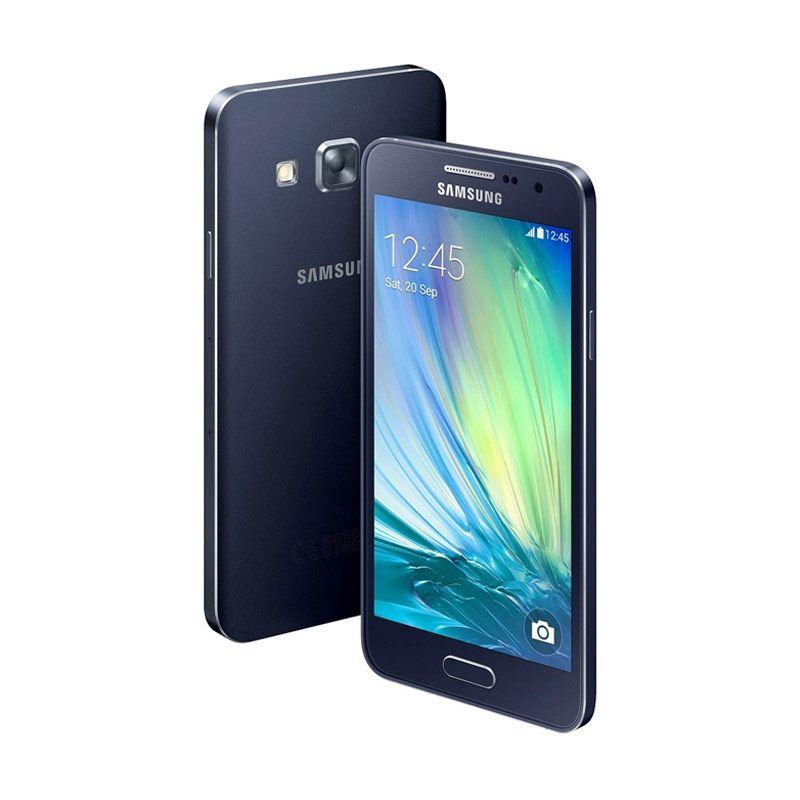 Samsung Galaxy A3 Hitam Smartphone