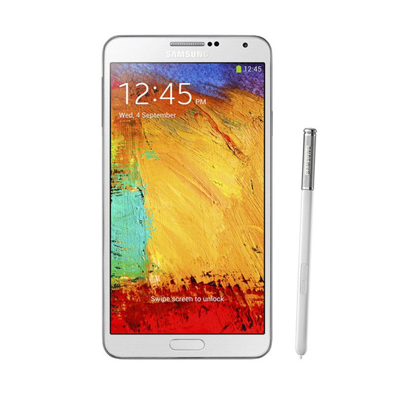 Samsung Galaxy Note 3 Hitam Smartphone