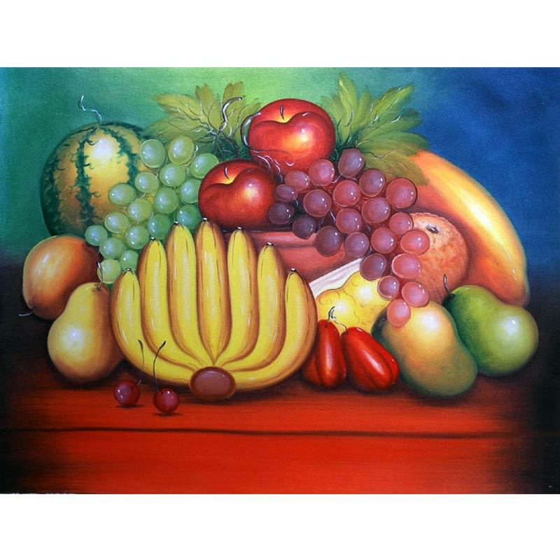 harga Lukisanku AGNW-3 Lukisan Buah Blibli.com