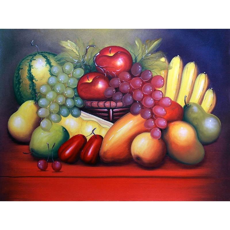 harga Lukisanku AGNW-4 Lukisan Buah Blibli.com