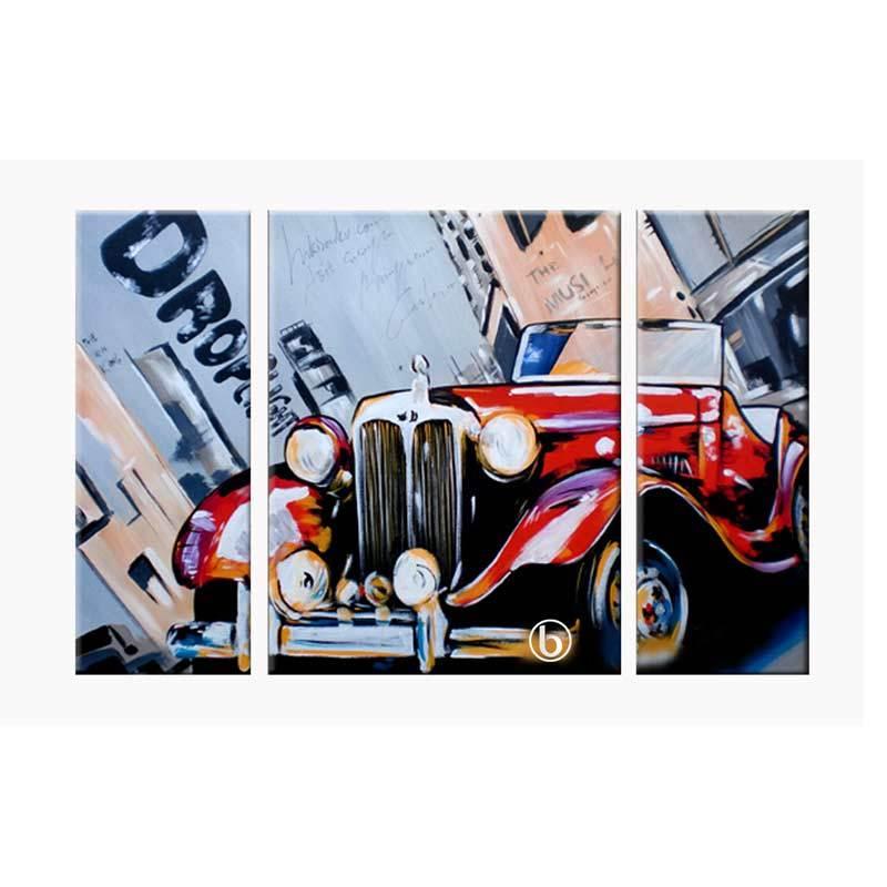Lukisanku AR31-CAR Lukisan Modern