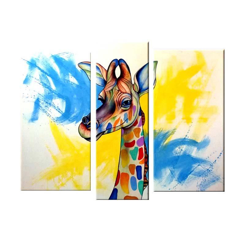 Lukisanku AR31-JCP Lukisan Modern