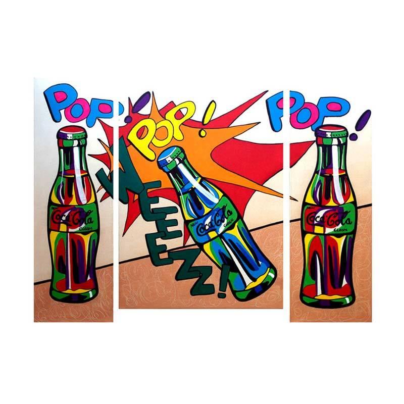 Lukisanku AR31-POP Lukisan Modern