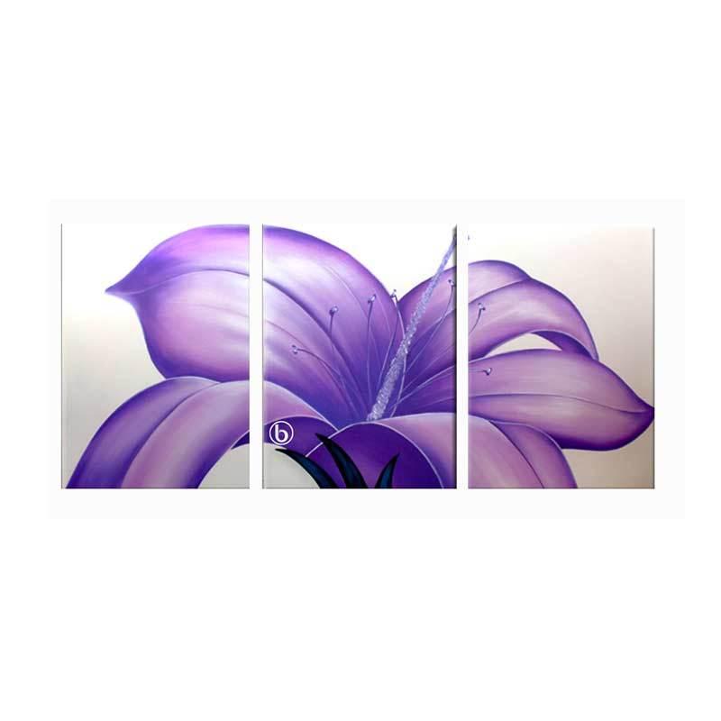 Lukisanku AR31-UNG Lukisan Bunga