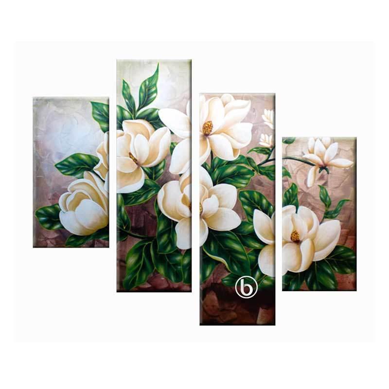 Lukisanku AR41-HJA Lukisan Bunga