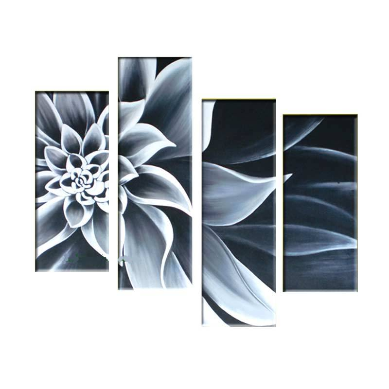 Lukisanku AR41-HTM Lukisan Bunga