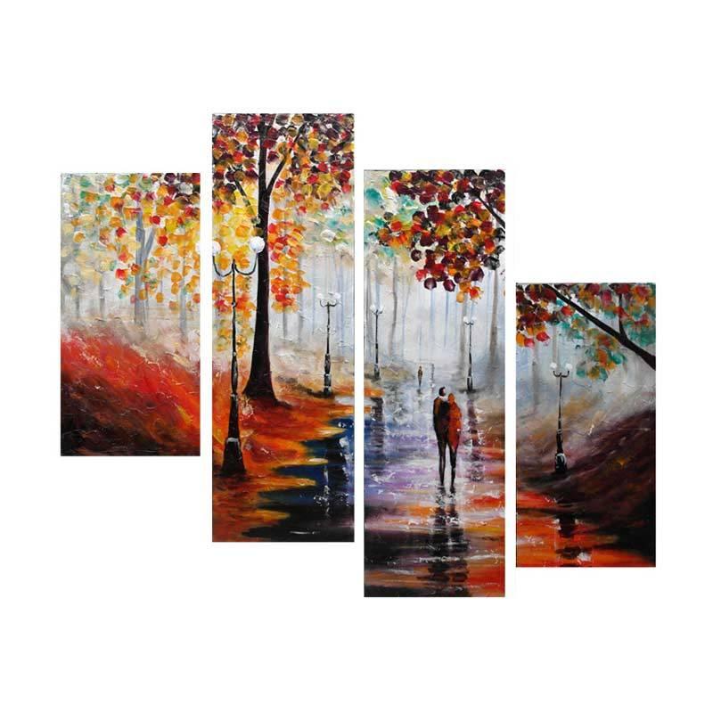 Lukisanku AR41-KLV Lukisan Modern