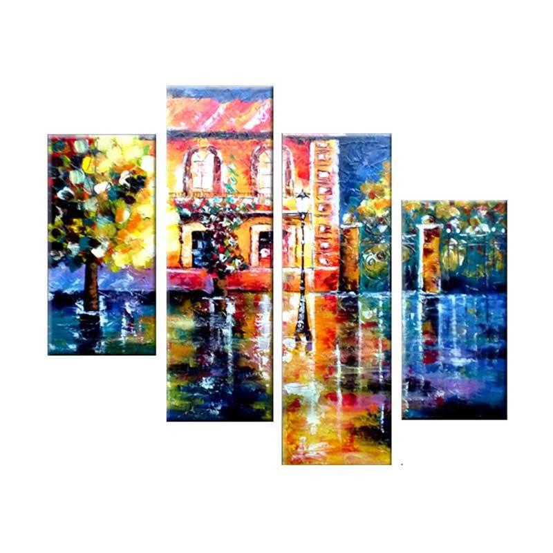 Lukisanku AR41-KMP Lukisan Modern
