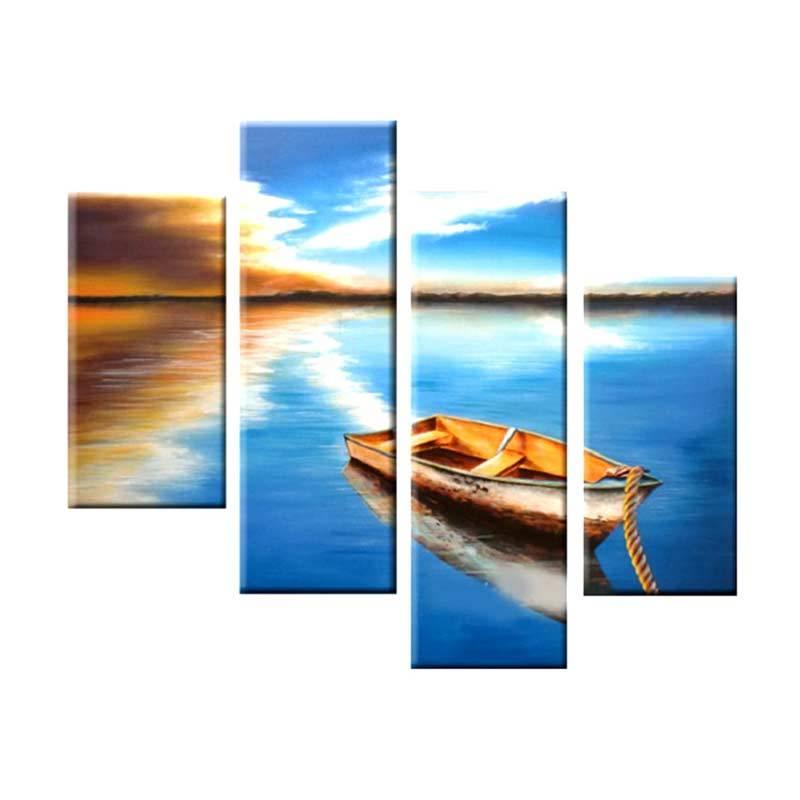 Lukisanku AR41-PRU Lukisan Modern