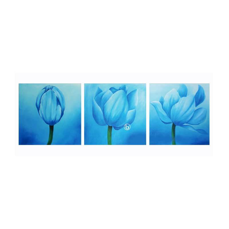 Lukisanku BG31-HG Lukisan Bunga