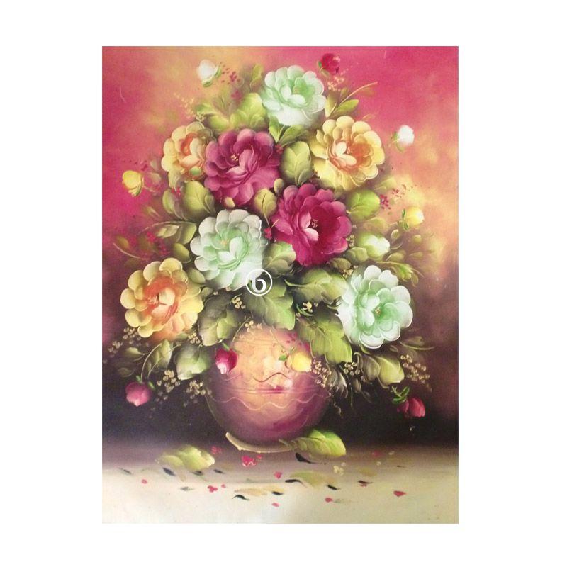 Lukisanku BL-R001 Lukisan Bunga