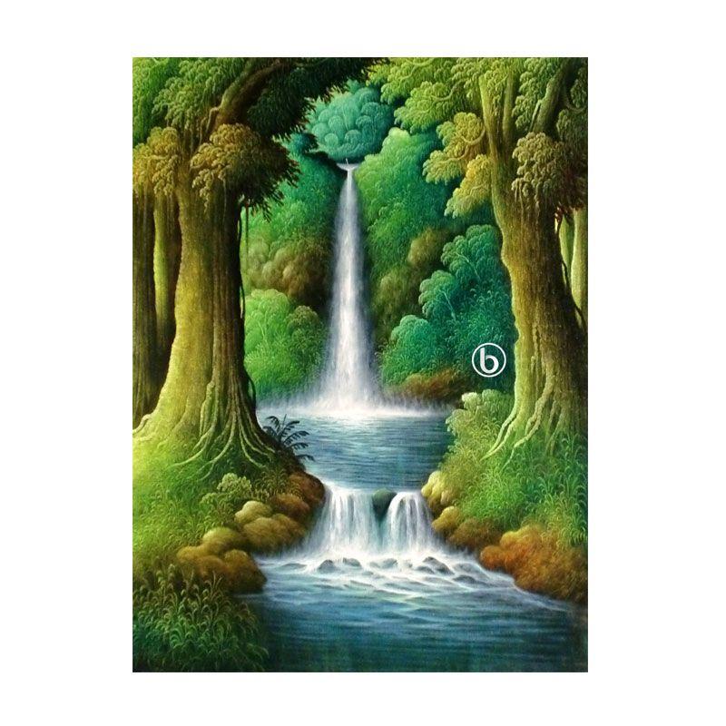 Lukisanku BL-R014 Lukisan Pemandangan