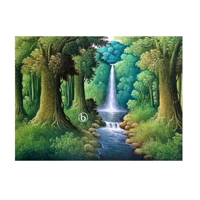 Lukisanku BL-R015 Lukisan Pemandangan