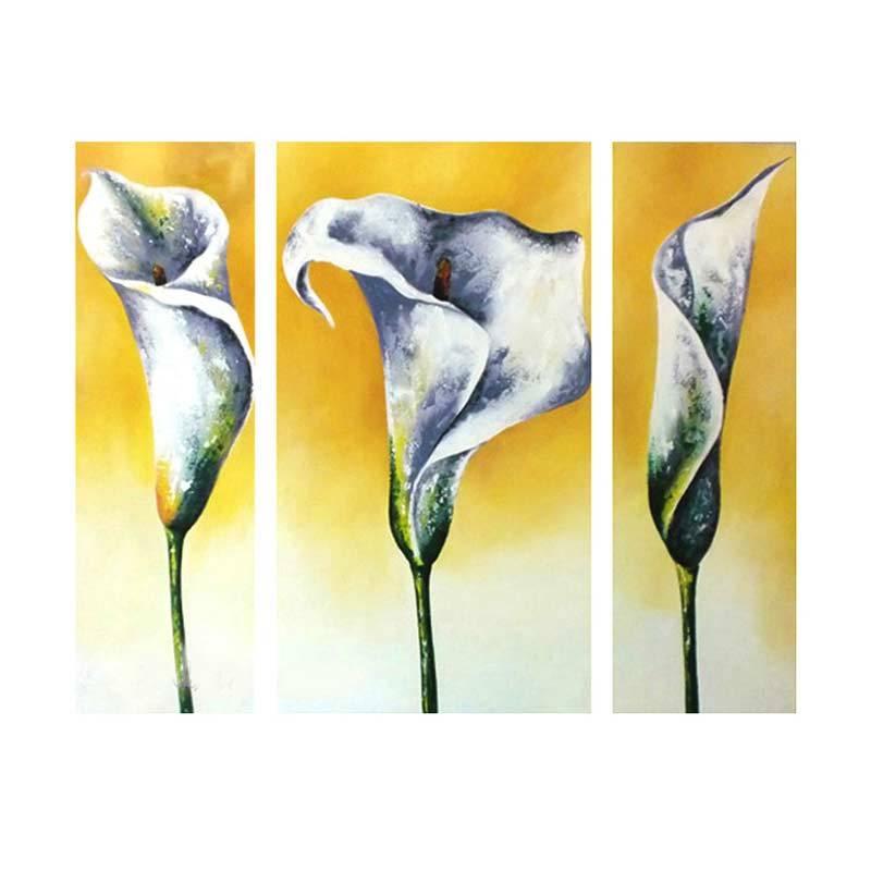 Lukisanku Bunga AR31-TK Lukisan Modern