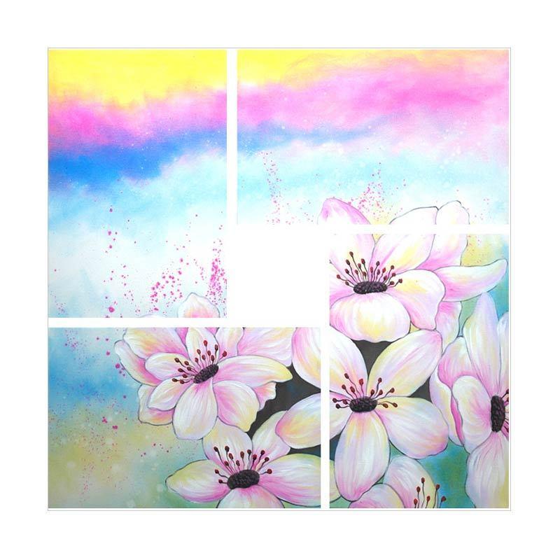 Lukisanku Bunga HD41-SC3 Lukisan