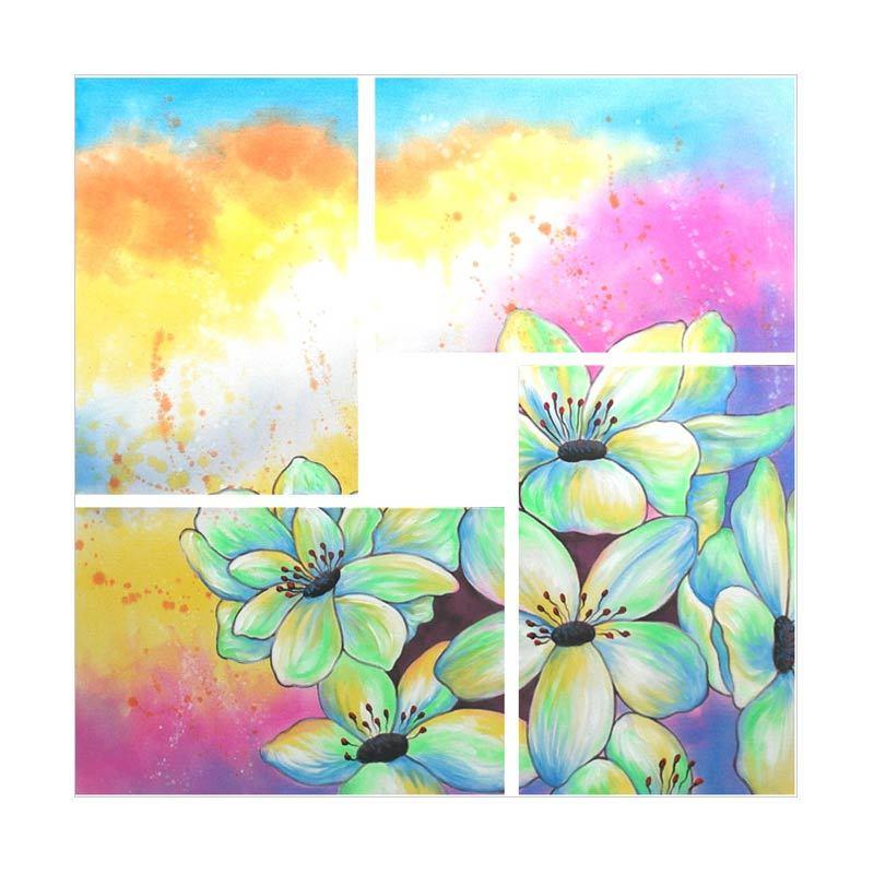 Lukisanku Bunga HD41-SC4 Lukisan