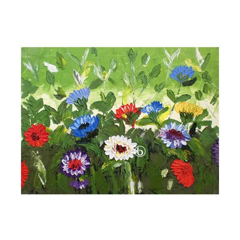 Lukisanku D1-16 Lukisan Bunga