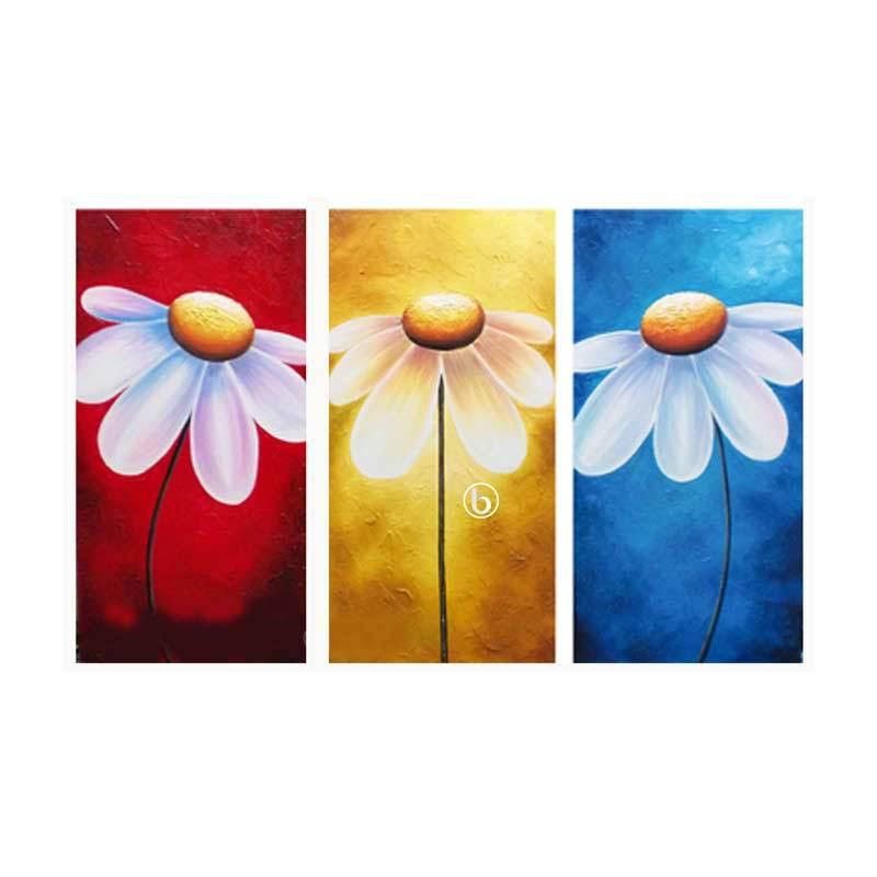 Lukisanku D31-CC Lukisan Bunga