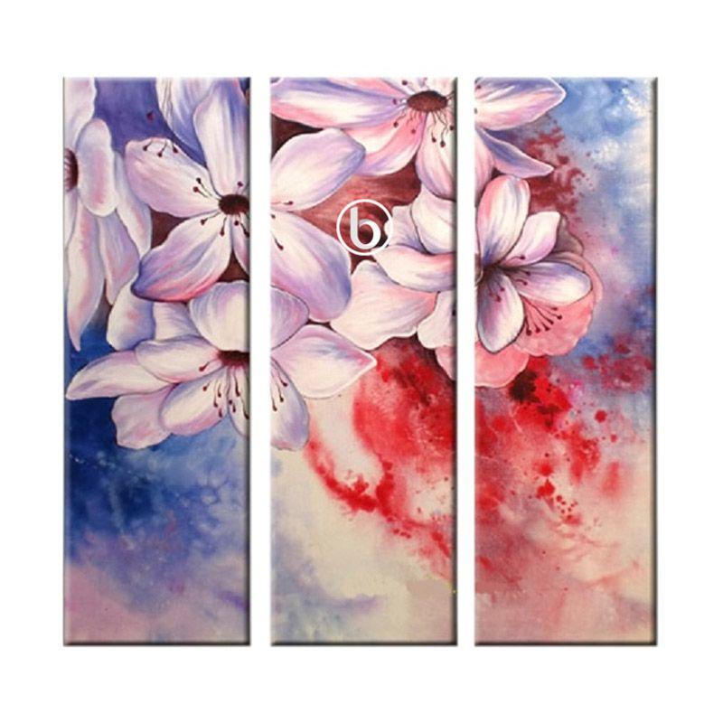Lukisanku H31-HJA Lukisan Bunga