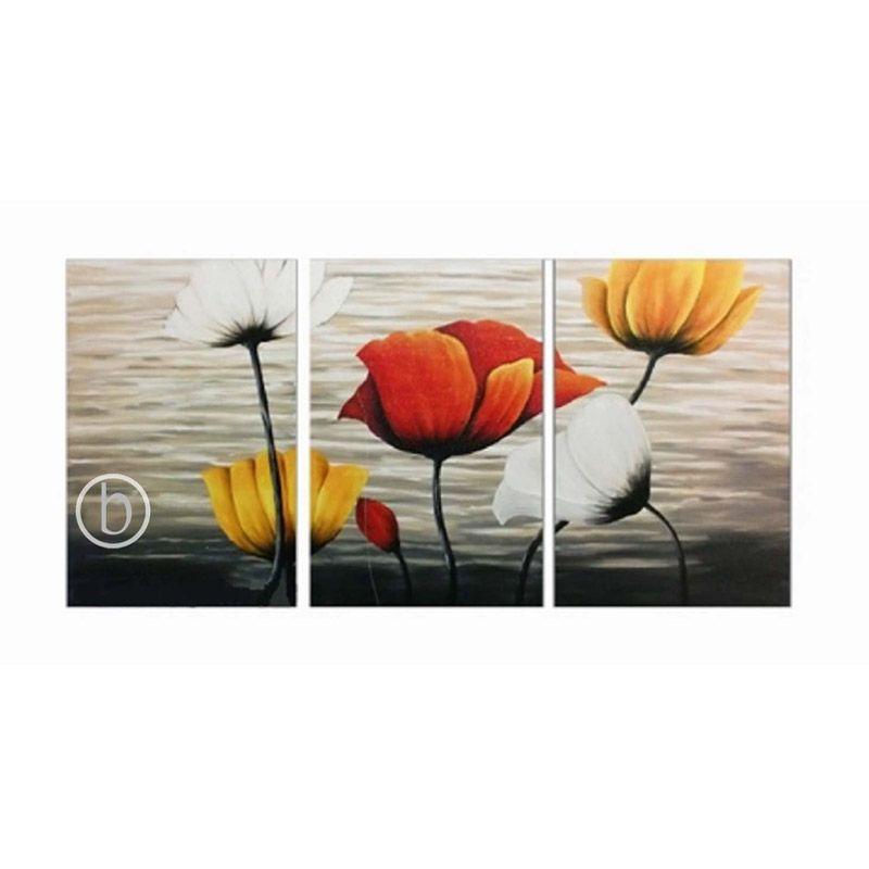 Lukisanku KG31-SPX Lukisan Bunga