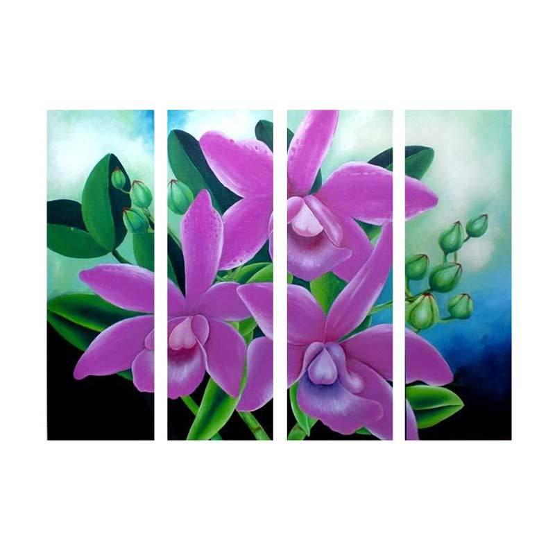 Lukisanku KGD41-PP Lukisan Bunga