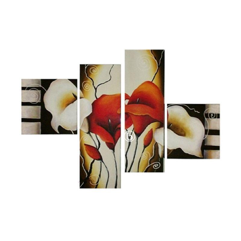 Lukisanku B41-C Lukisan Bunga
