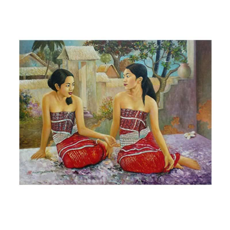 Lukisanku MHT-Balinese Lukisan Modern