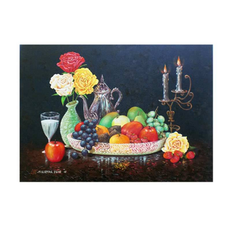 Lukisanku MHT-Fresh Fruit Lukisan Modern
