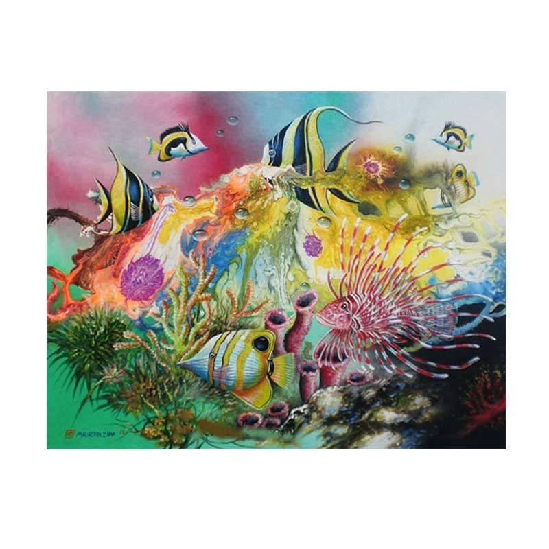 Lukisanku MHT-Seafish Lukisan Modern