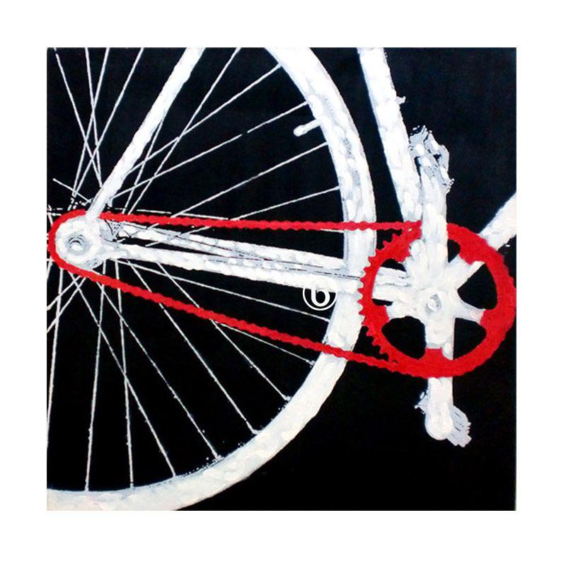 Lukisanku Modern Bicycle Lukisan Modern