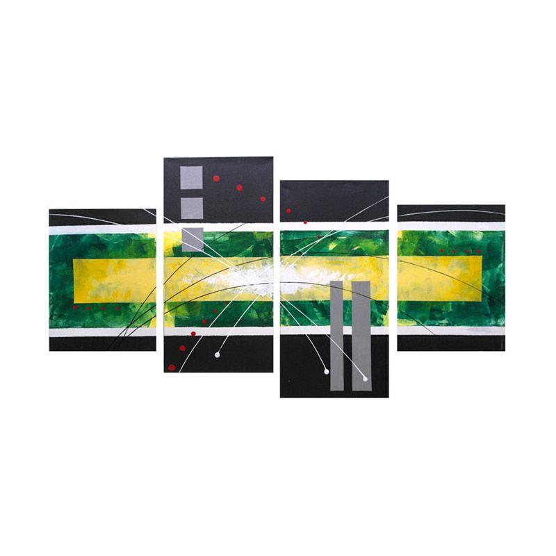 Lukisanku Modern SB41-HJ Lukisan Modern
