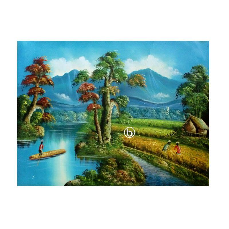 Lukisanku Panen BL-R006 Lukisan Pemandangan