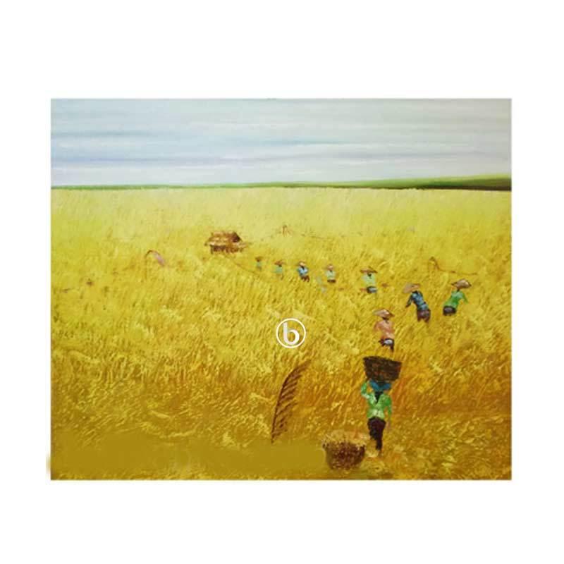 Lukisanku Panen C1-4 Lukisan Pemandangan